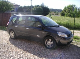Familien Guldhammers nye Renault Grand Senic 1.9 dci